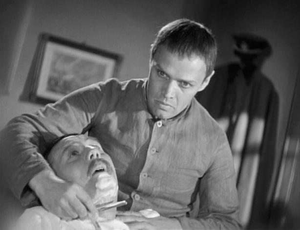 Wozzeck shaving scene