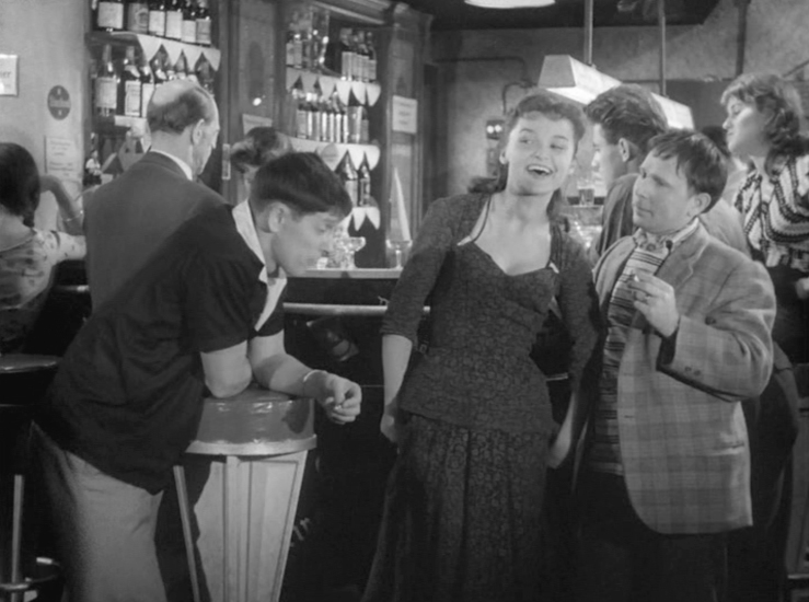 nightclub scene with Fred Delmare