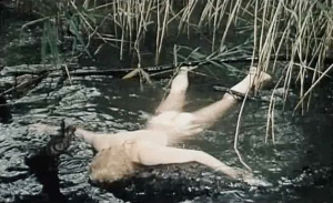 corpse in the water